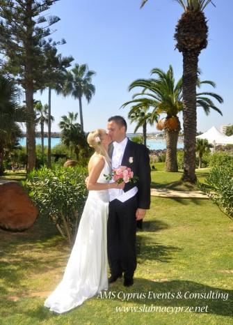Ślub marzeń na Cyprze Oroklini