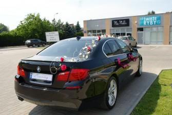 Limuzyna Auto do ślubu BMW 5 F10 - Wesela Mazowieckie Warszawa