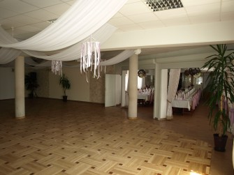 Sala taneczna -parkiet Morąg