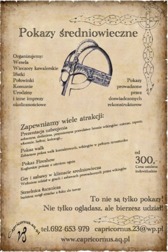 Plakat Reklamowy Mława