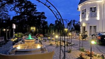 Ogród hotelowy Mielno