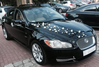 Jaguar do ślubu Kraków