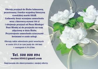 Ulotka reklamowa Chorzów