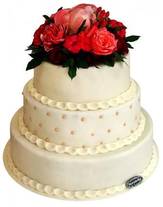 Tort weselny w stylu angielskim Gliwice