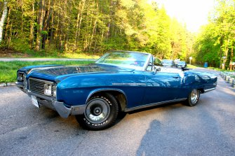 Buick Electra kabriolet klasyk zabytek auto samochód do ślubu! Olsztyn