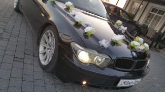 TRANSPORTER Auto do Ślubu BMW X5 SUV lub BMW 7 LIMUZYNA +Usługa Dronem Dębica