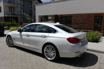 BMW 4 Grant Coupe Luxury  Krakow