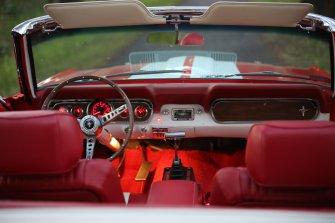 Mustang GT350 Kabriolet  Milicz