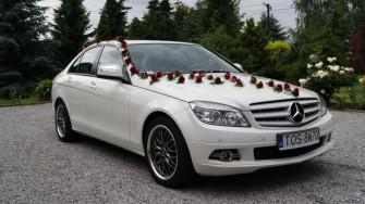 Piękny biały Mecredes W204 Ostrowiec Świętokrzyski