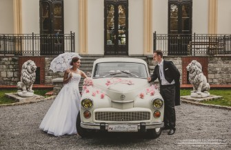 Warszawa auto do ślubu  Wołów