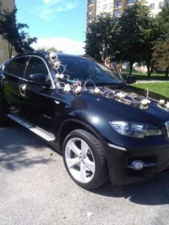 Luksusowe BMW X6, wynajem , kolor czarny Radom