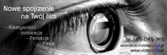 Profesjonalne wideofilmowanie i cyfrowy montaż - Twoje wrażenia - bezcenne ! Dąbrowa Górnicza