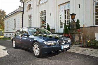 BMW Seria 7 do wynajęcia na Ślub do Śubu  Warszawa