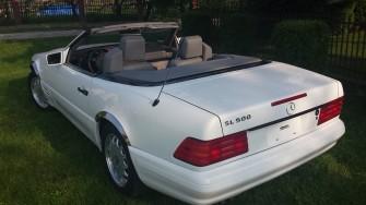 Mercedes sl500 wynajem do ślubu auto na wesele Dębica