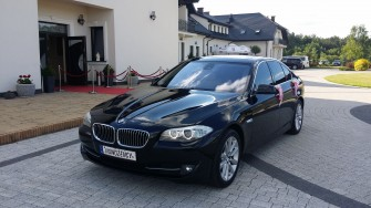 Piękne BMW F10- KREMOWA SKÓRA- super cena Radom