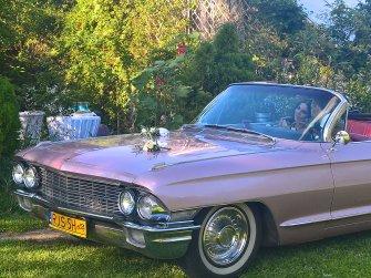 Różowy Cadillac Kabriolet !!! Jasło