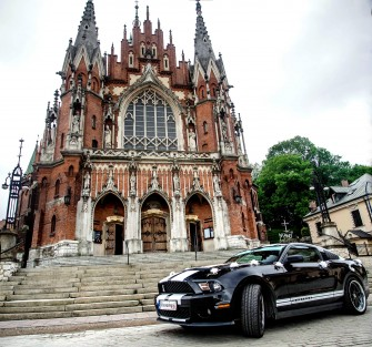 Mustang Shelby Gt500 Look SAM PROWADZISZ Kraków