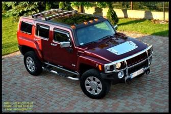 Hummer H3 - wersja Luxory do Slubu Starachowice
