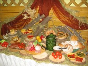 Na stole ch�opskim Lubin
