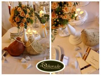 Sto�y weselne - uroczysto�� weselna w Krakowie Rybnik