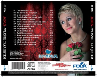 2014 roku na rynku muzycznym ukazała się autorska płyta AGNUS wydana przez Wydawnictwo Muzyczne FOLK z Warszawy: http://www.tanieplyty.com.pl/pl/p/Agnus-Wlasnie-taka-jestem/1173  Teledyski do niektórych piosenek można obejrzeć w tv na kanale PoloTV.   Włocławek