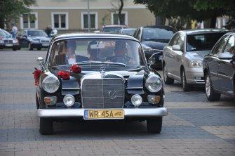 Mercedes zabytkowy do ślubu Radom