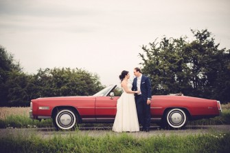 Nasz piękny Cadillac bohaterem sesji ślubnej :) Szczecin