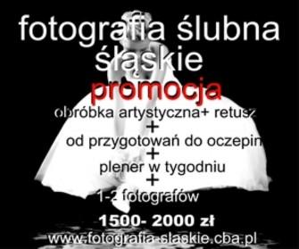 fotograf ślubny Olkusz, Wolbrom Katowice