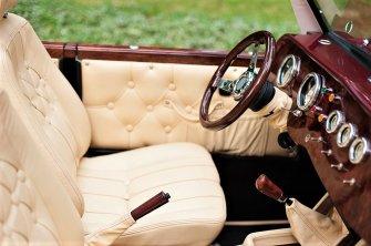 Kabriolet Alfa Romeo Spider model Nestor Baron Siedlce