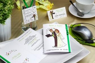 Zaproszenie ślubne informatyka - Geek Katowice