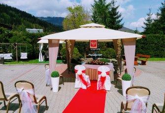 ceremonia ślubna w Szczyrku