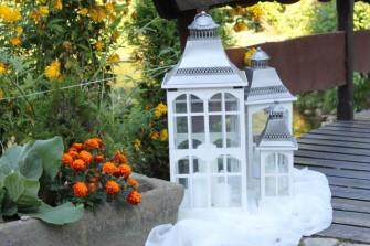 Latarnie w ogrodzie Stronie Śląskie