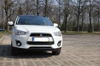 Mitsubishi ASX do ślubu Łódź