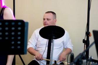 Paweł - perkusja Love Song Skierniewice