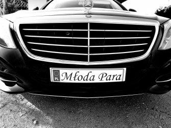 Limuzyna do ślubu Mercedes S klasa cudowny Poznań