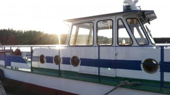 Statek Impuls Ruciane-Nida