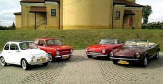 Fiaty 124, 500, 850 Wodzisław Śląski