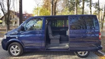 Komfortowy Multivan T5 dla gości weselnych Radom