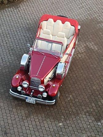 Excalibur, nestor baron ford mustang cabrio retro Kościerzyna