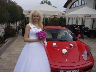 Ferrari do ślubu Oświęcim