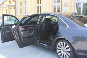 Transporter AUDI A8 L VIP LUX CAR Bielsko-Biała