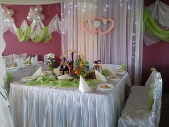 stół dla pary młodej Mława