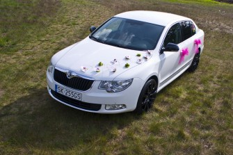 Białe Auto do Ślubu Katowice