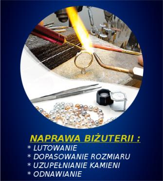 Naprawa biżuterii Legnica