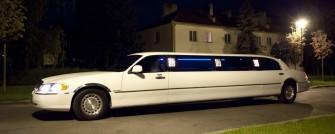 Limuzyna Lincoln biała, 9 metrów, 8 osób, laser, led, szampan Bydgoszcz
