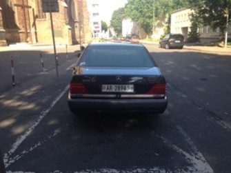 Mercedes S klasa V12 Słupsk