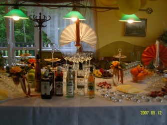 Dekoracja stołu Międzybrodzie Bialskie