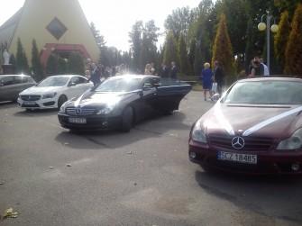 Auto do ślubu Mercedes CLS Częstochowa Śląsk
