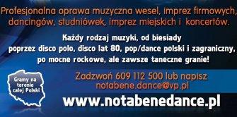 NOTABENE DANCE-Gramy w całej Polsce Zielona Góra