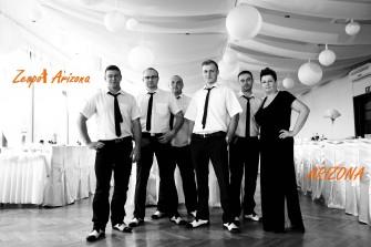 Zespół Arizona ,oprawa muzyczna, zespół weselny ,muzyka na żywo  Niepołomice